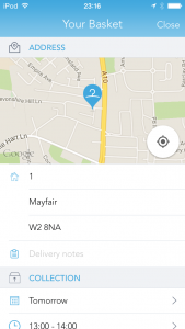 Flexible data-driven form with instant validation, map geocoding and expanding/collapsing.